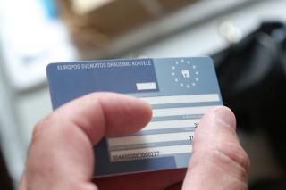 ES draudimo kortele